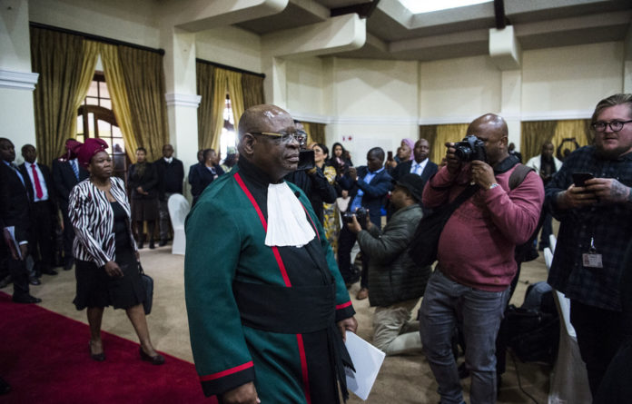 Efficiency: Justice Ramond Zondo wants that the commission's scope be reduced to the parameters set by the former public protector and that other agencies investigate the other matters.
