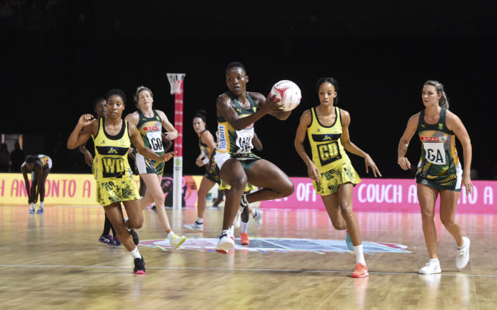 Jamaica Sunshine Girls v South Africa SPAR Proteas - Vitality Netball Nations Cup 2020