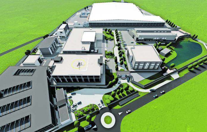 OR Tambo International Airport SEZ ORTIA Precinct 1 master plan overview
