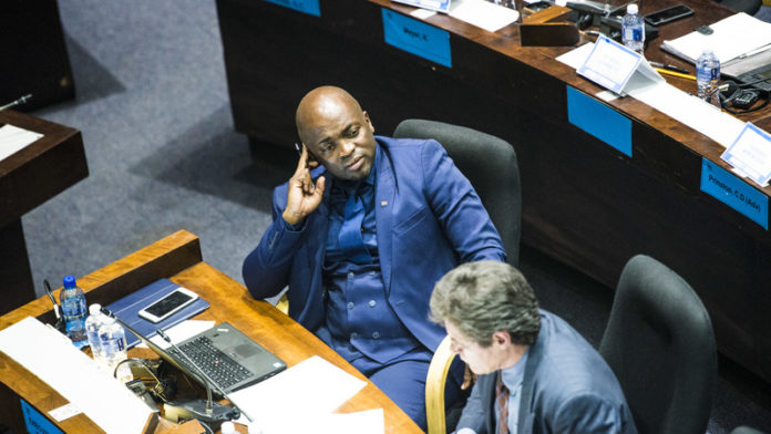Solly Msimanga officially resigns