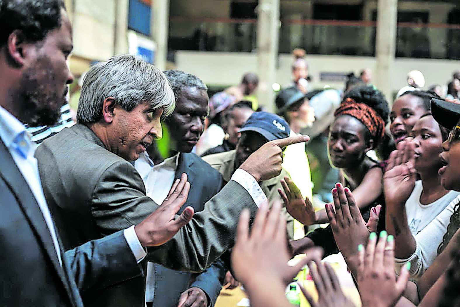 Wits Outsourcing protest