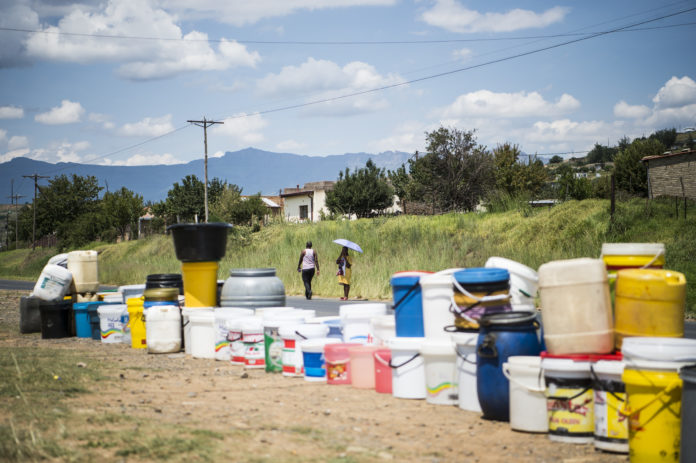 The struggles for water in QwQwa are unreal.