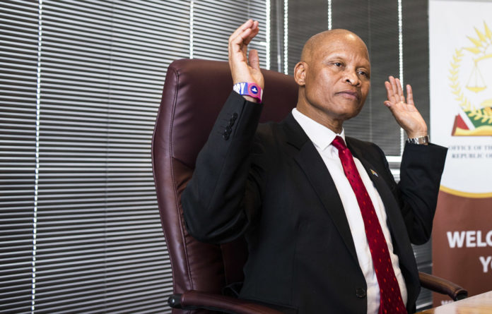 Chief Justice Mogoeng Mogoeng has had to intervene to protect judges from unfair criticism.