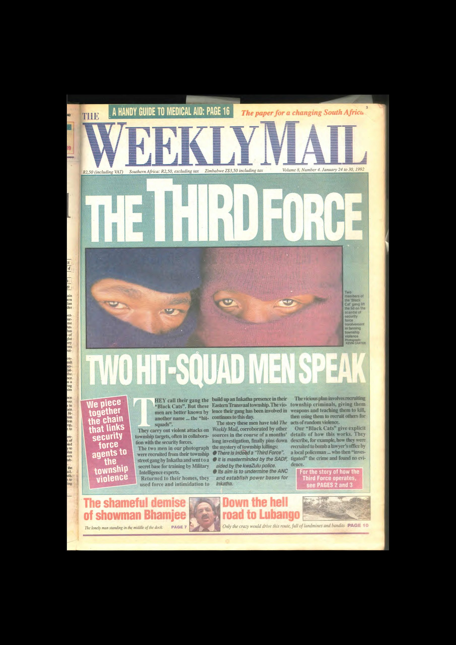 Third force weekly mail 1992