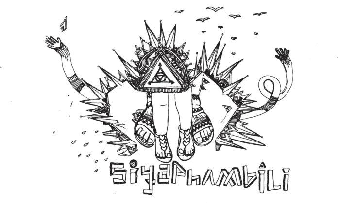 Siya Phambili drawing by Slondile Jali