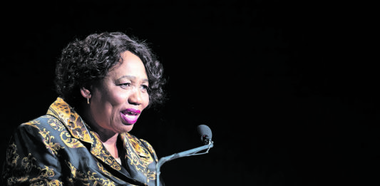 Minister of Basic Education Angie Motshekga praised the hard work of teachers, which she said was behind South Africa's improved matric results, at the National Teaching Awards. (Delwyn Verasamy)
