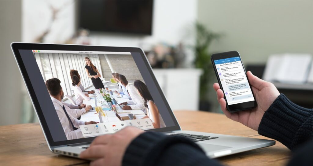 StarLeaf users able to meet with anyone, anywhere and on any device, both internally or outside the business
