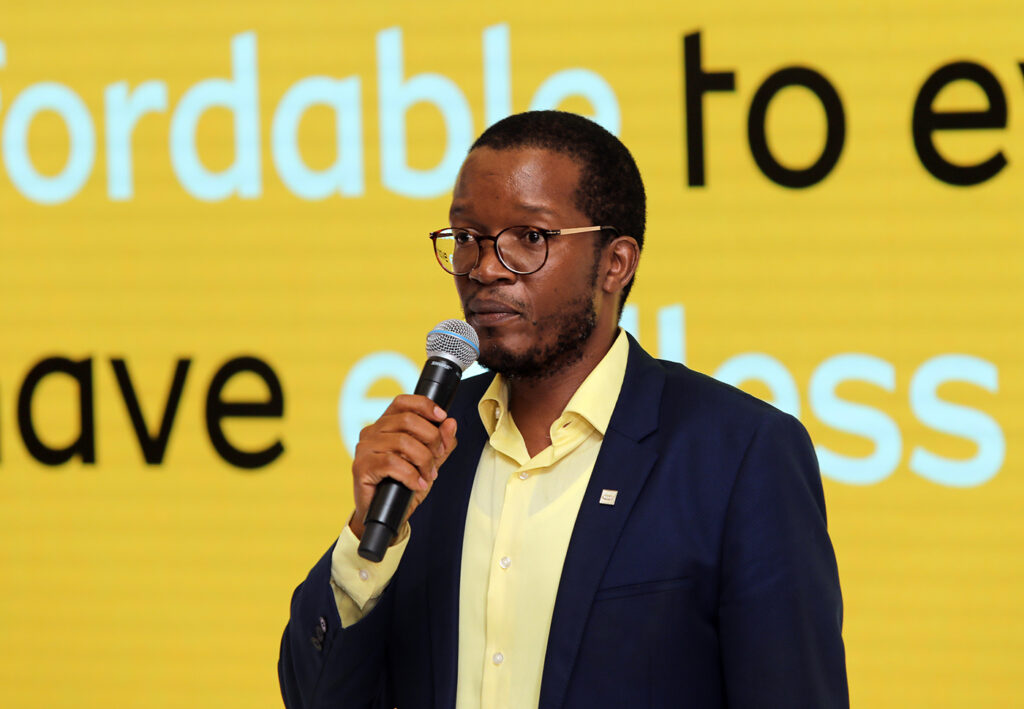 Godfrey Motsa, MTN chief executive South Africa, explains how the company is helping during the Covid-19 crisis at a media briefing