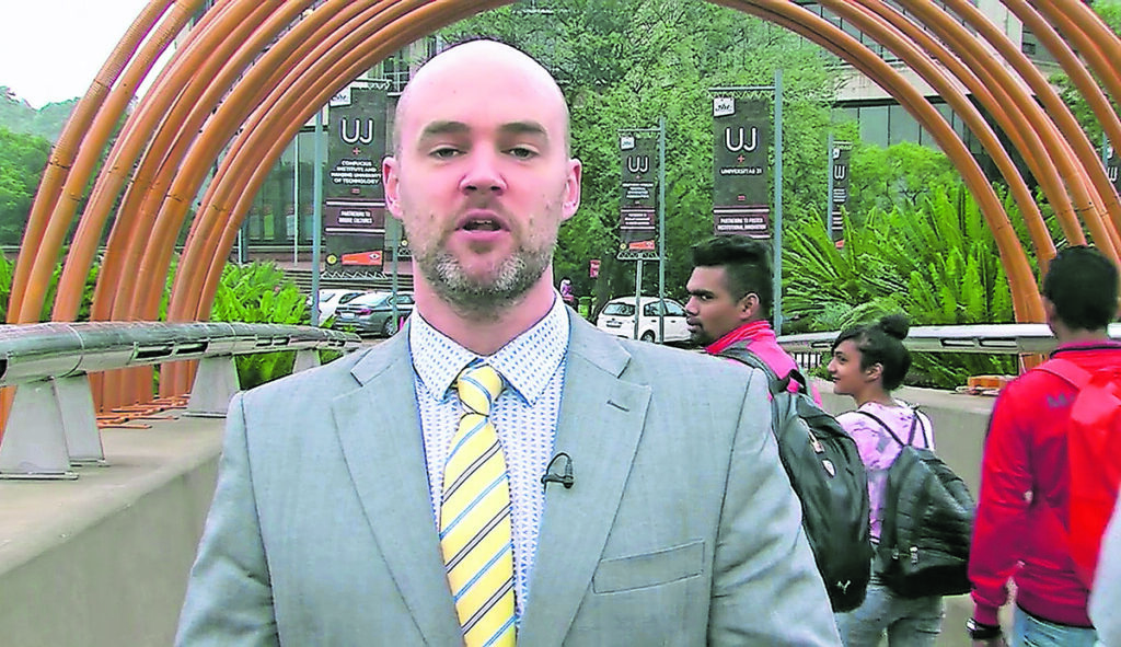 Professor Alex Broadbent, director of the Institute for the Future of Knowledge and professor of philosophy at the University of Johannesburg. (Daily Motion)