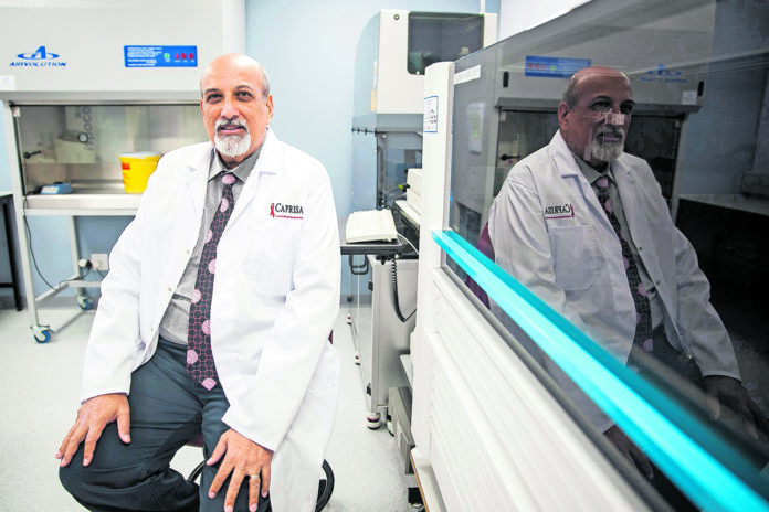 Professor Salim Abdool Karim says that the lockdown has brought South Africans some time to prepare for the fight against the Coronavirus. (Madelene Cronjé)