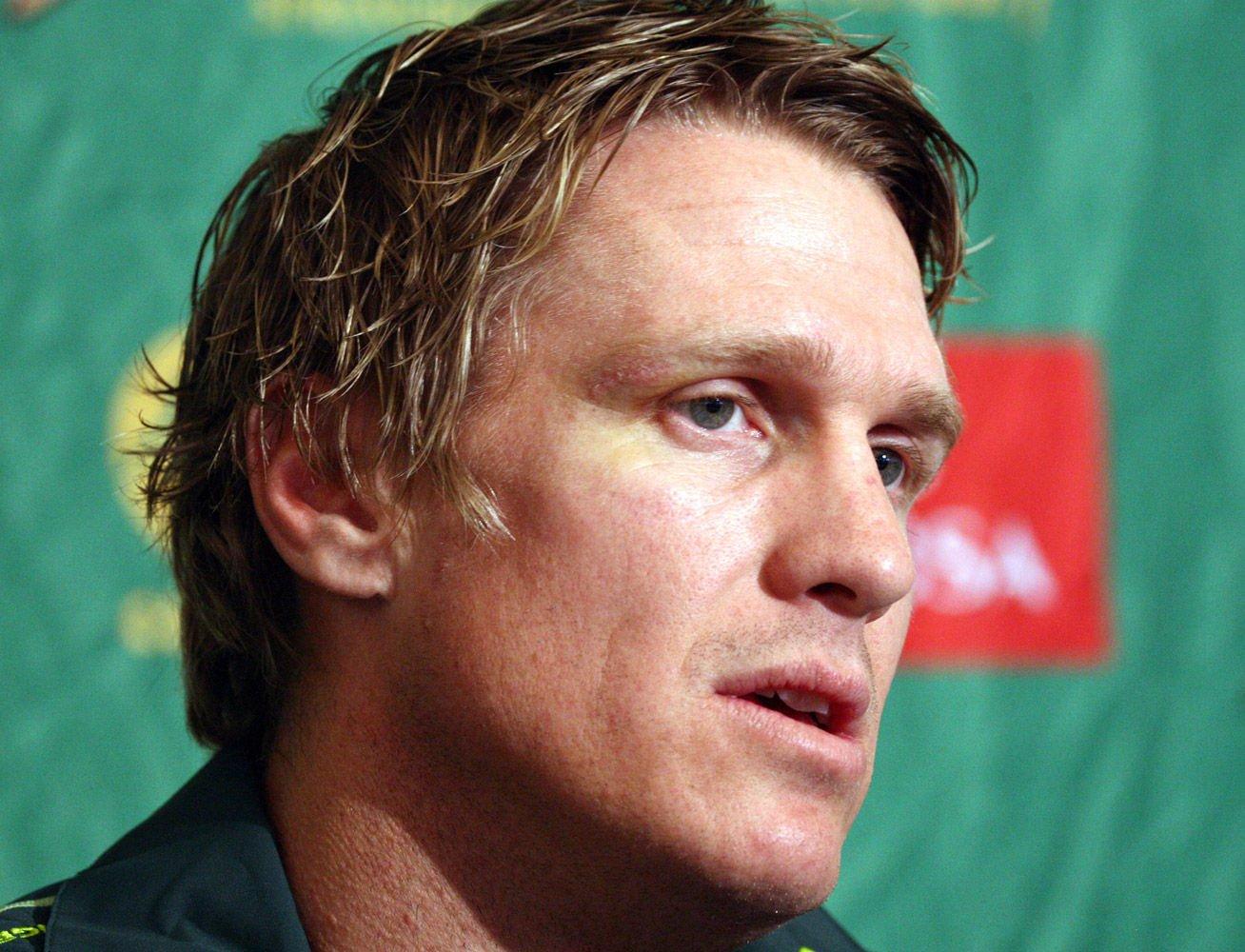Springbok captain Jean de Villiers. Gallo