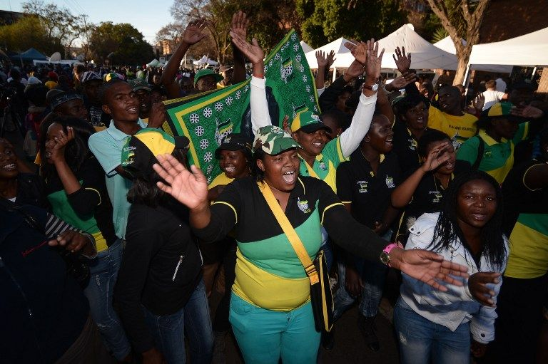 Encroachment into ANC strongholds frequently resulted in intimidation 'of one kind or another'. AFP