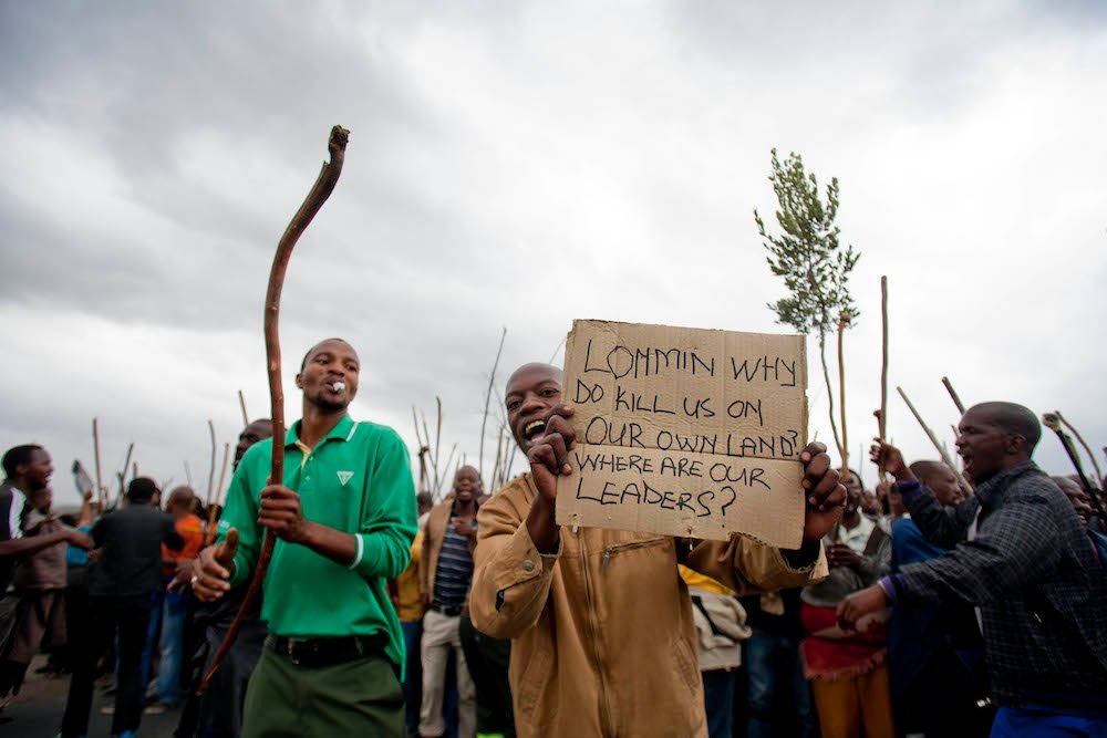 Hot issue: Marikana miners have waited three years for the report on the massacre. Many believe the actions of Cyril Ramaphosa may have escalated the violence. Delwyn Verasamy, M&G