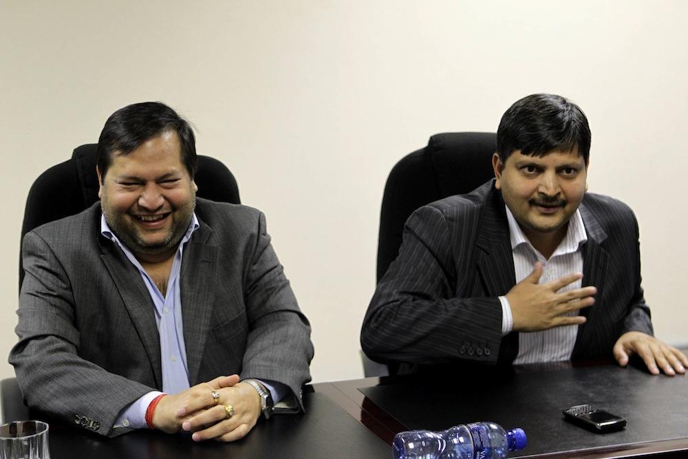 System failure: Ajay and Atul Gupta. Muntu Vilakazi/Gallo/City Press