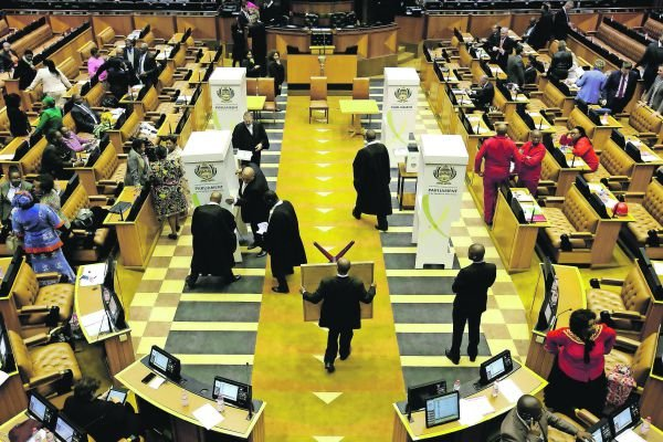 Clear guidelines:It was the duty of MPs to follow the rules of the Constitution when voting in the motion of no confidence in the president Mark Wessels, Reuters