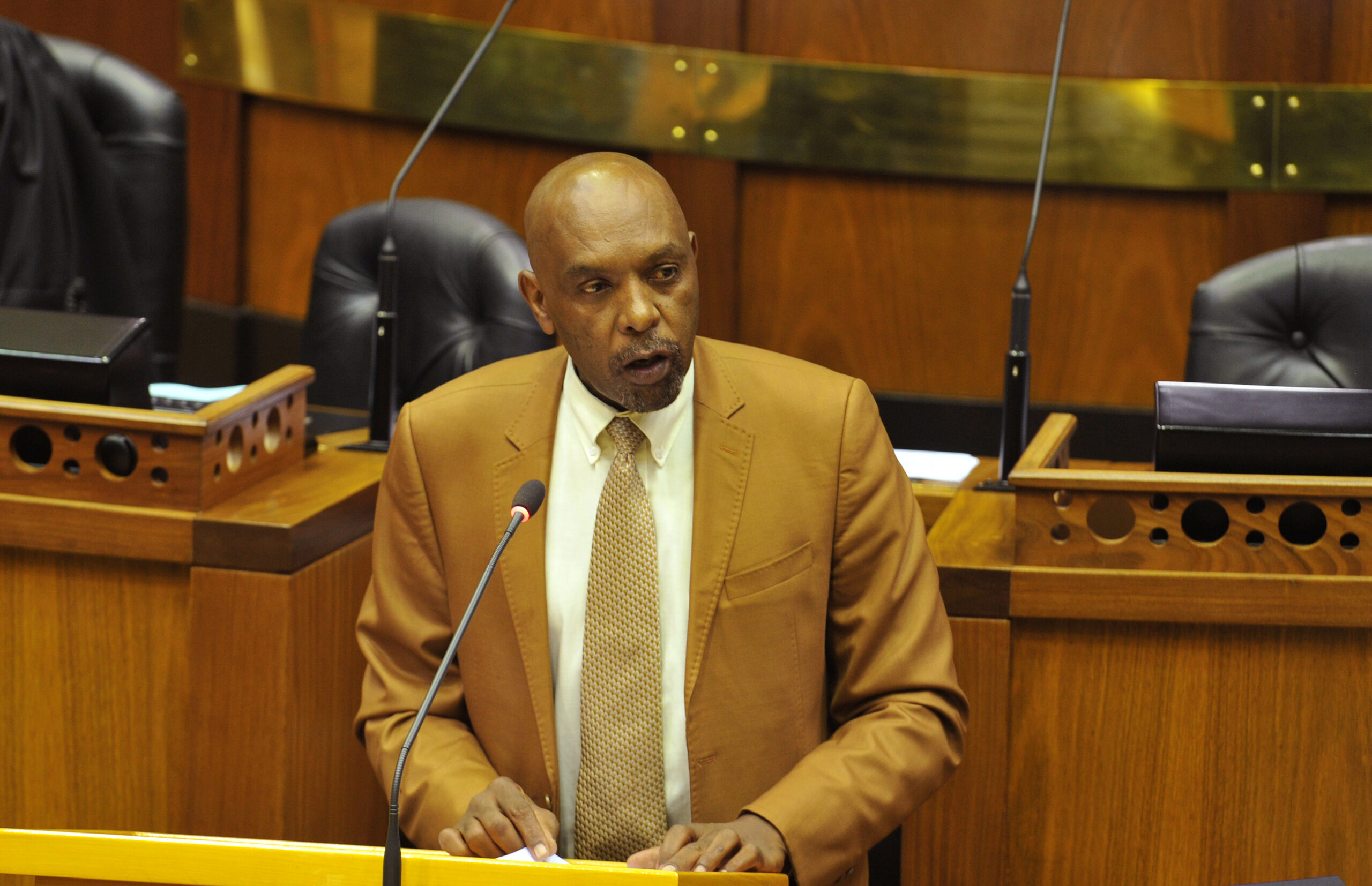 The ANC has welcomed Smith's decision to subject himself to an investigation by Parliament's ethics committee. Lulama Zenzile/Beeld/Gallo