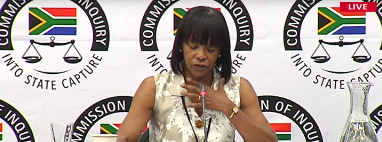 Former SAA board chairperson Cheryl Carolus. SABC