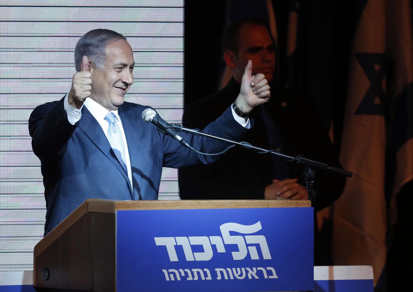 Binyamin Netanyahu elections. Reuters