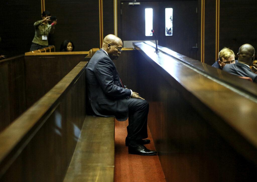 Former president Jacob Zuma. Phil Magakoe/Reuters