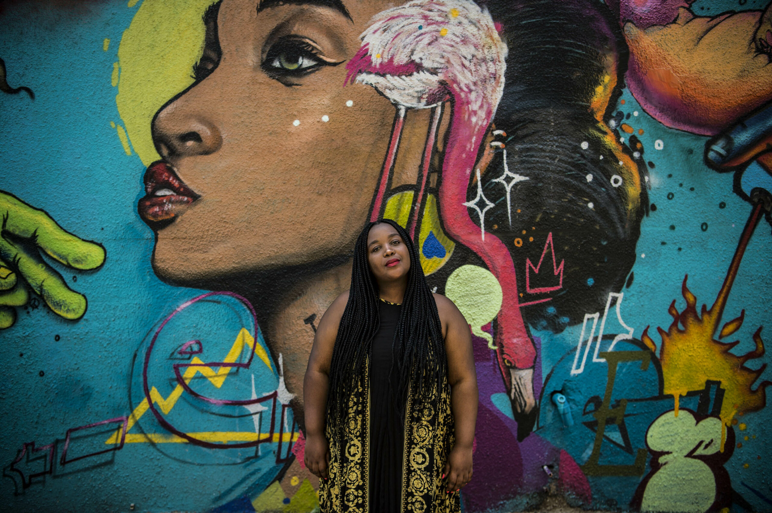 Blended vessel: Spha Mdlalose says being boxed into a genre makes her nervous; she describes her debut album Indlel'eyekhaya as a display of all her influences. Delwyn Verasamy/ M&G