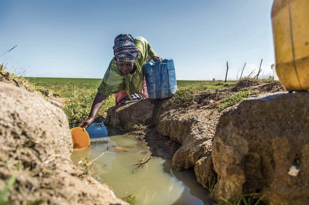 Verena C still collects water from a stream after projects costing millions failed - Mail and Guardian