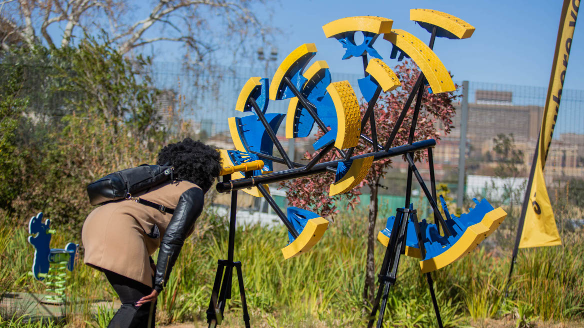 Perspective-shifting artwork to provide healing at children's hospital