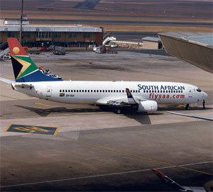 SAAs competitors say there is no incentive for the airline to function competitively. Photograph: Oupa Nkosi