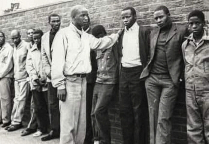 Fruits of freedom: Phineas Mahlangu (above) was forced by police to identify his relative Solomon Mahlangu in a line-up. (Walter Dhladhla, AFP)